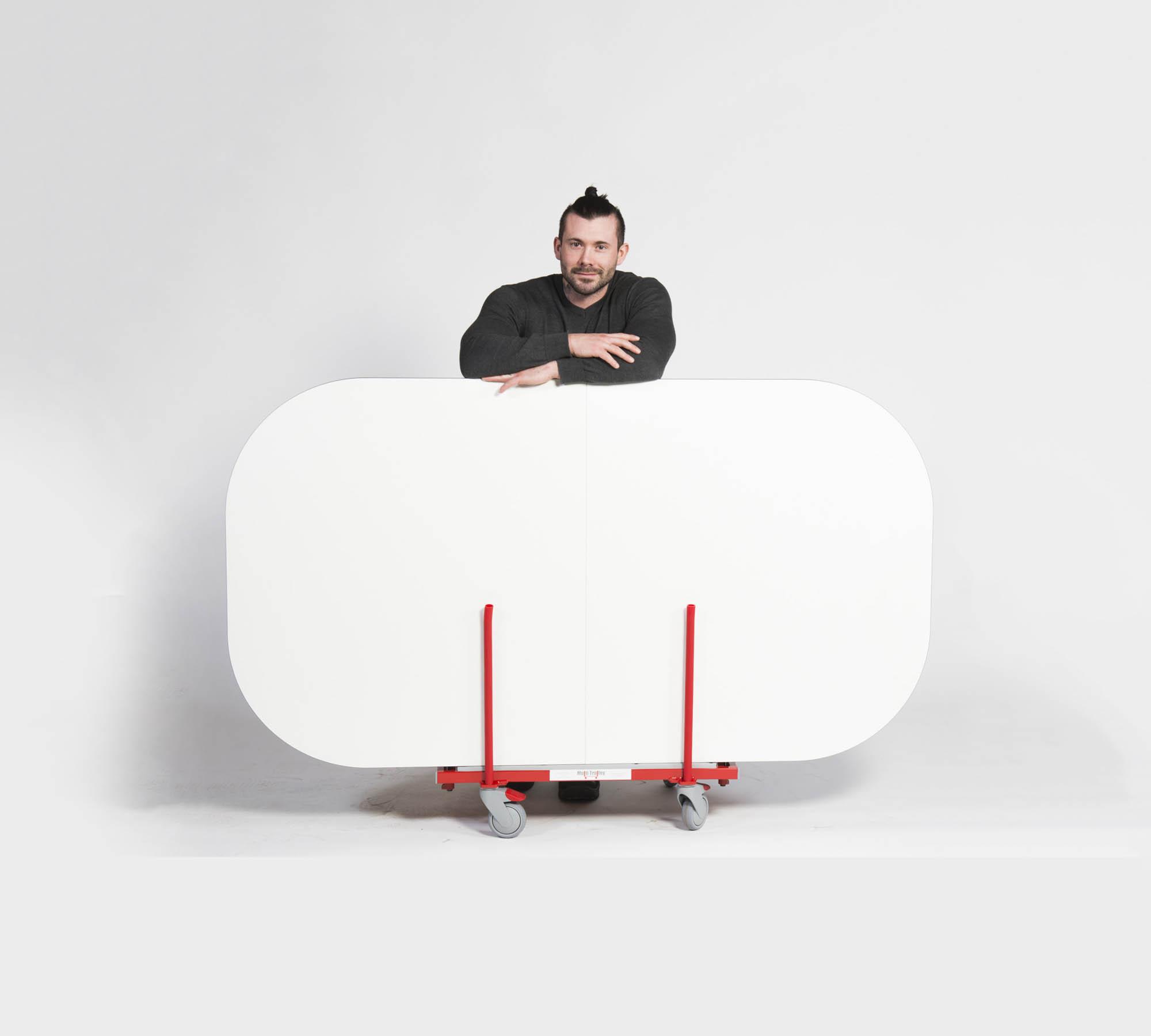 Mannerin kuljetuspyörät löytyy Multi Trolleyn tuotteissa