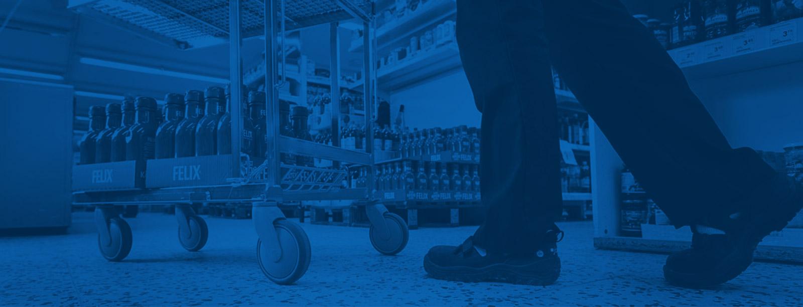 Manners möbel- och apparathjul passar anstalter och affärer