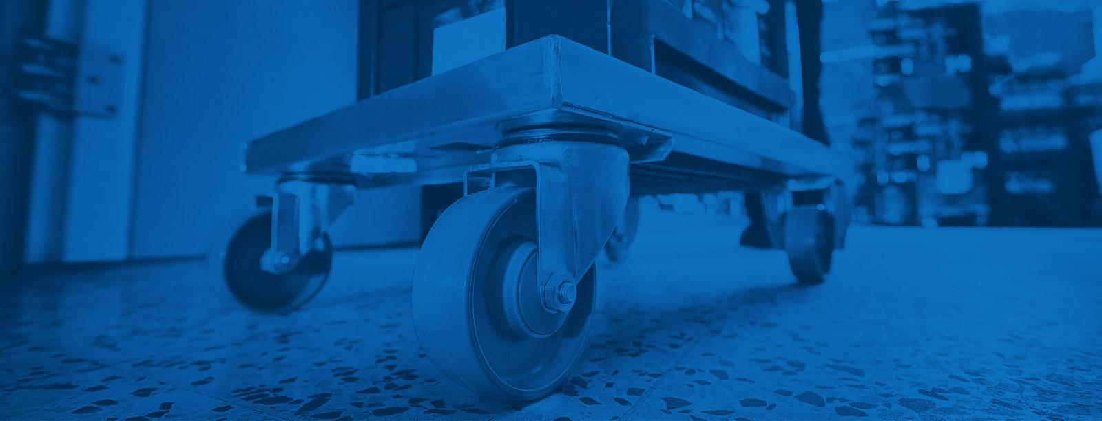 Manner industrihjul för logistik