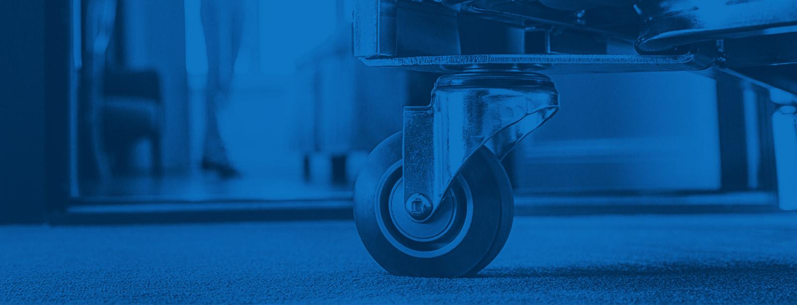 Manners tunglasthjul tål stor vikt och hårt slitage